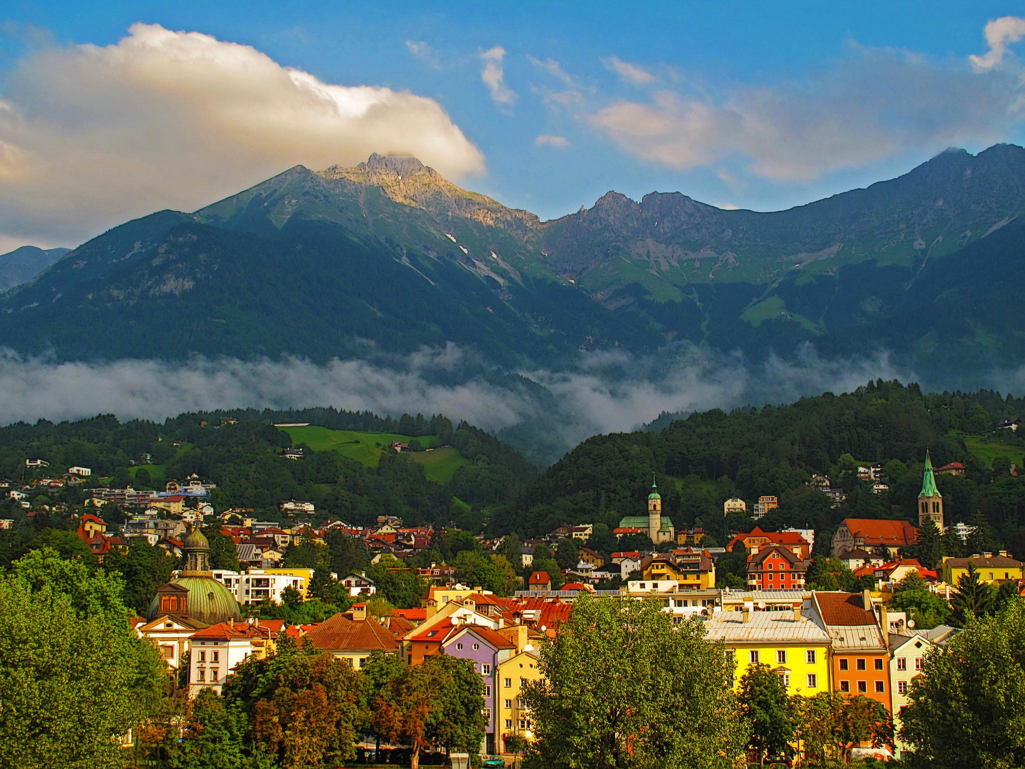 Инсбрук, Австрия, улица скачать