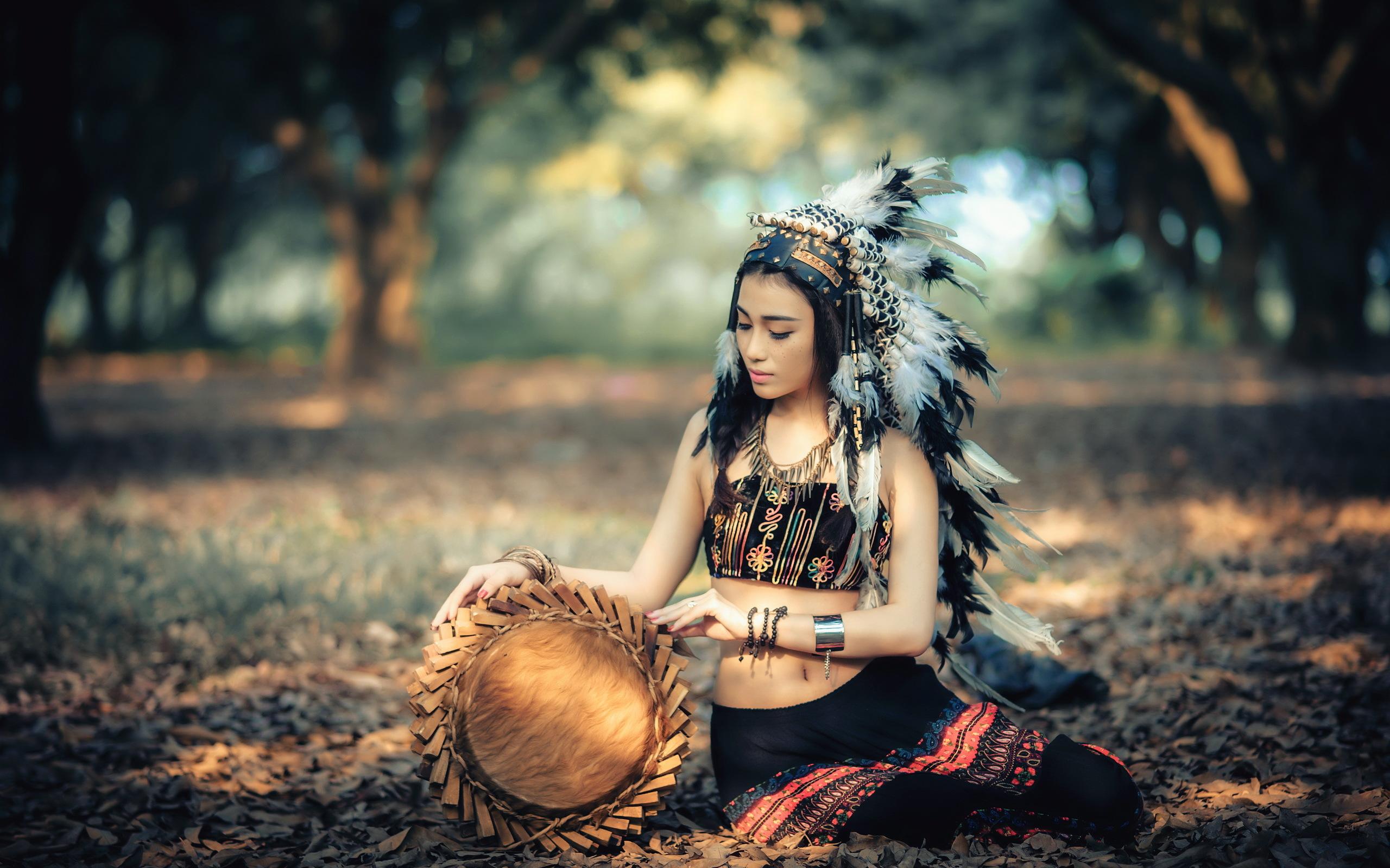 девушка индейцы загрузить