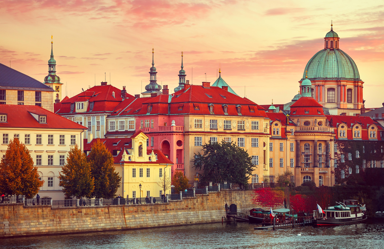 страны архитектура Прага Чехия скачать