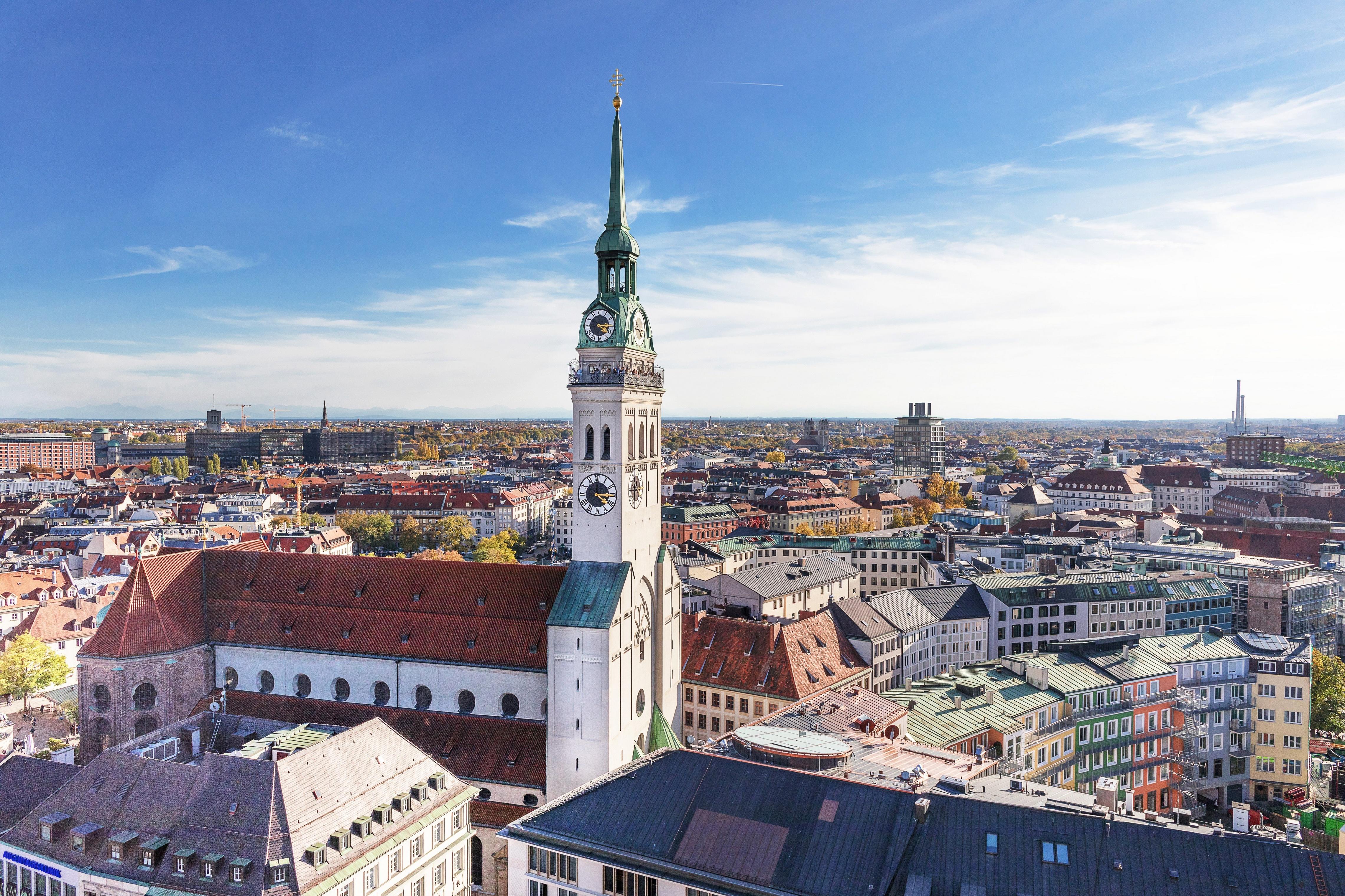 Обои мюнхен, здания, крыши, Munich, Germany, германия. Города foto 16