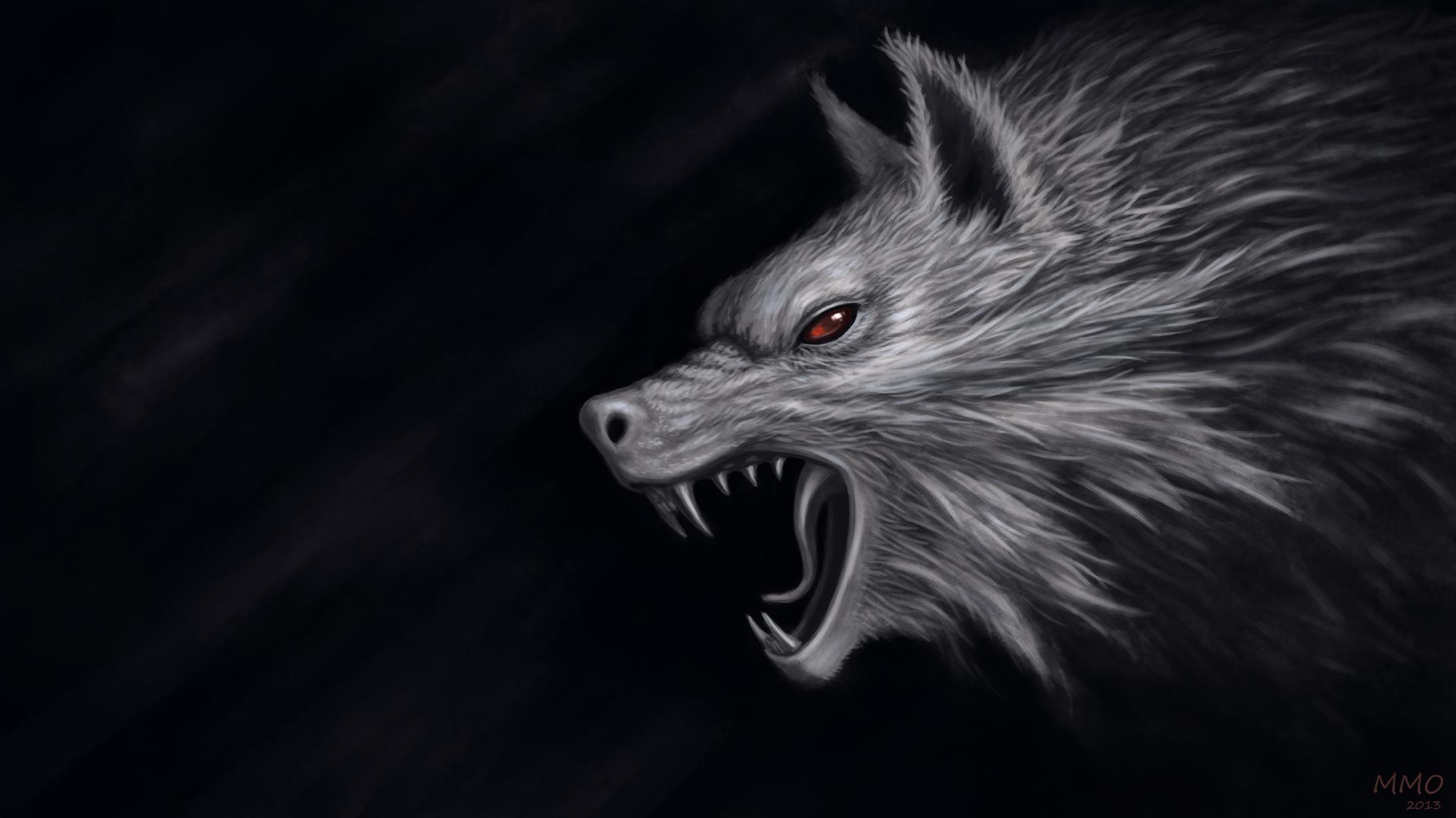 Черный волк со шрамами скачать