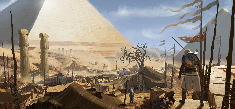 ubisoft excavated ancient egypt - HD5774×2686