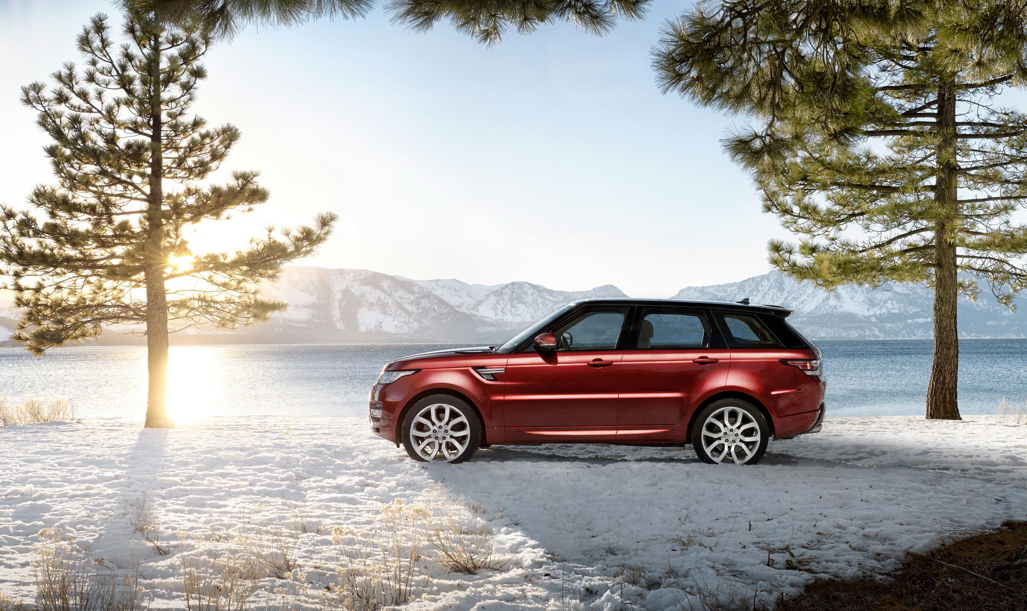 автомобиль красный снег без смс