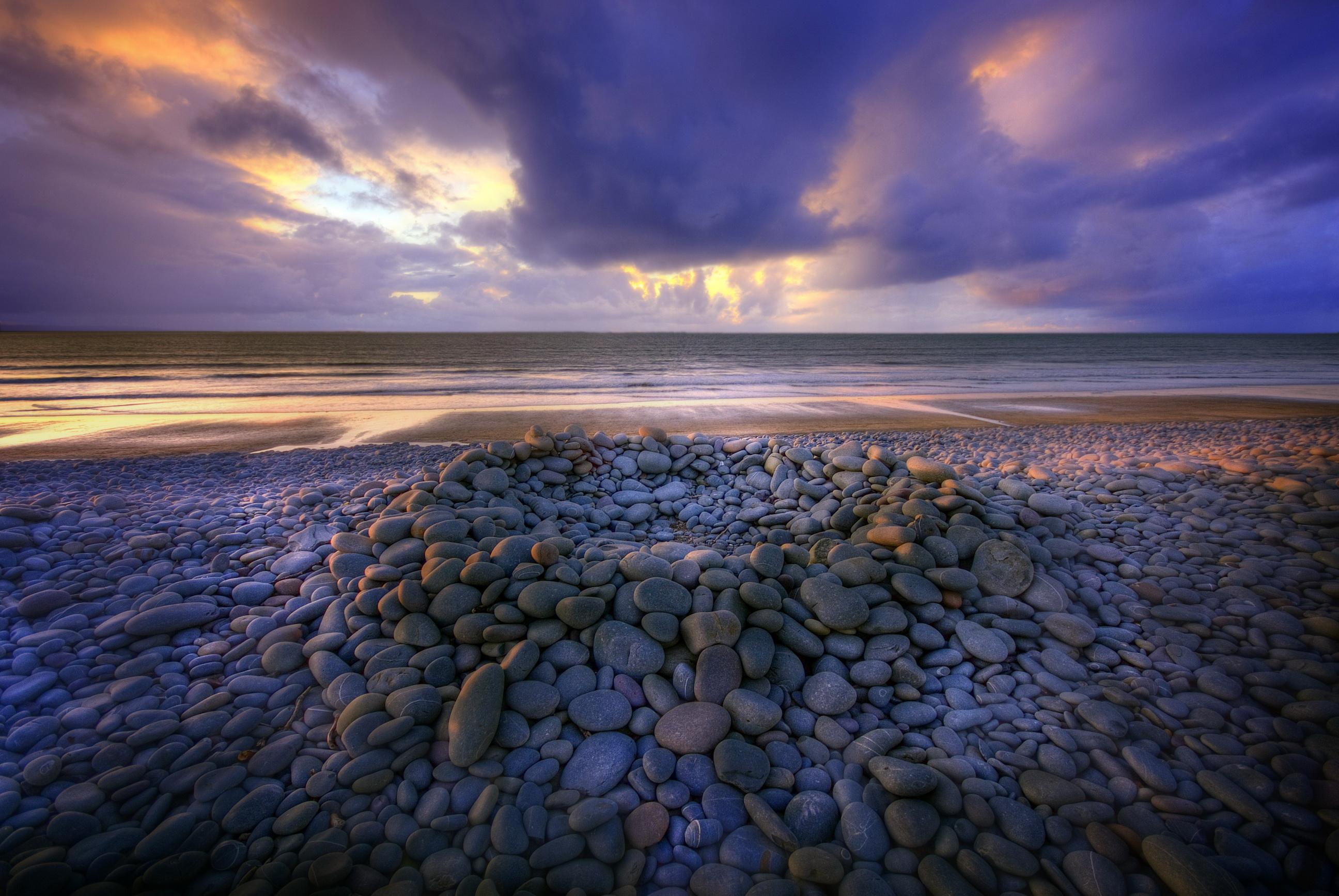 природа море горизонт небо скачать