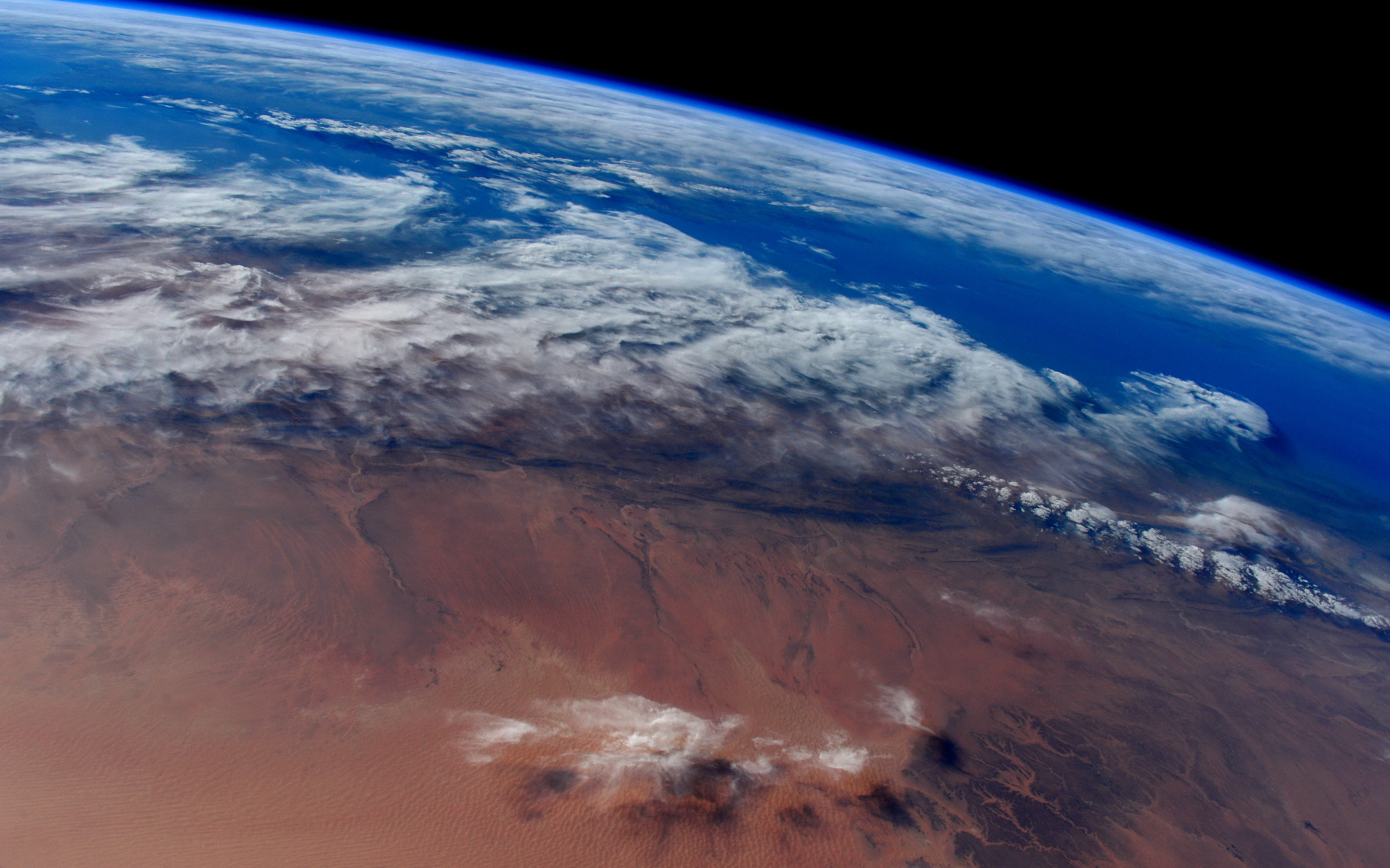 planet earth from space - HD2560×1600