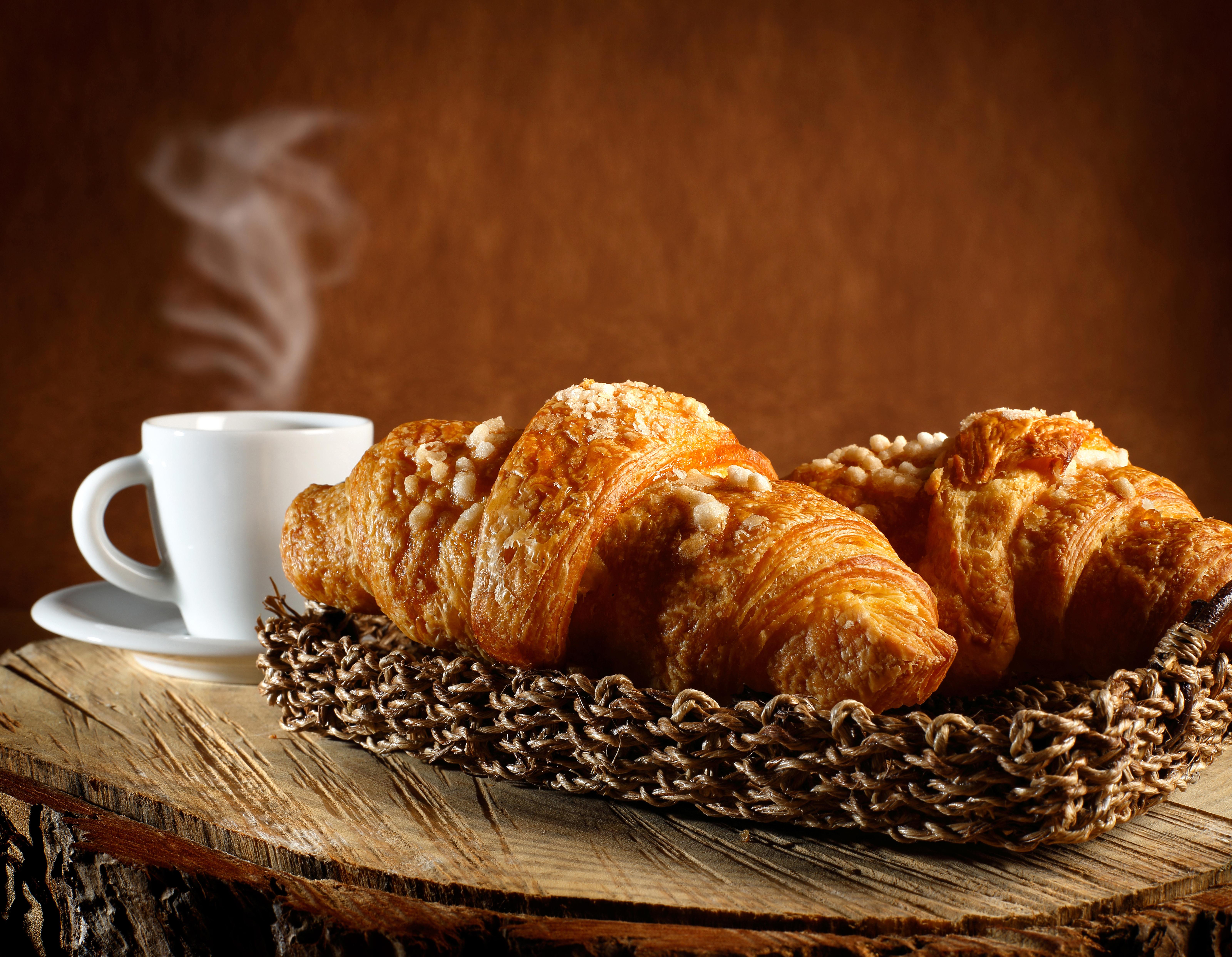 еда круасаны кофе повидло варенье food croissants coffee jam бесплатно