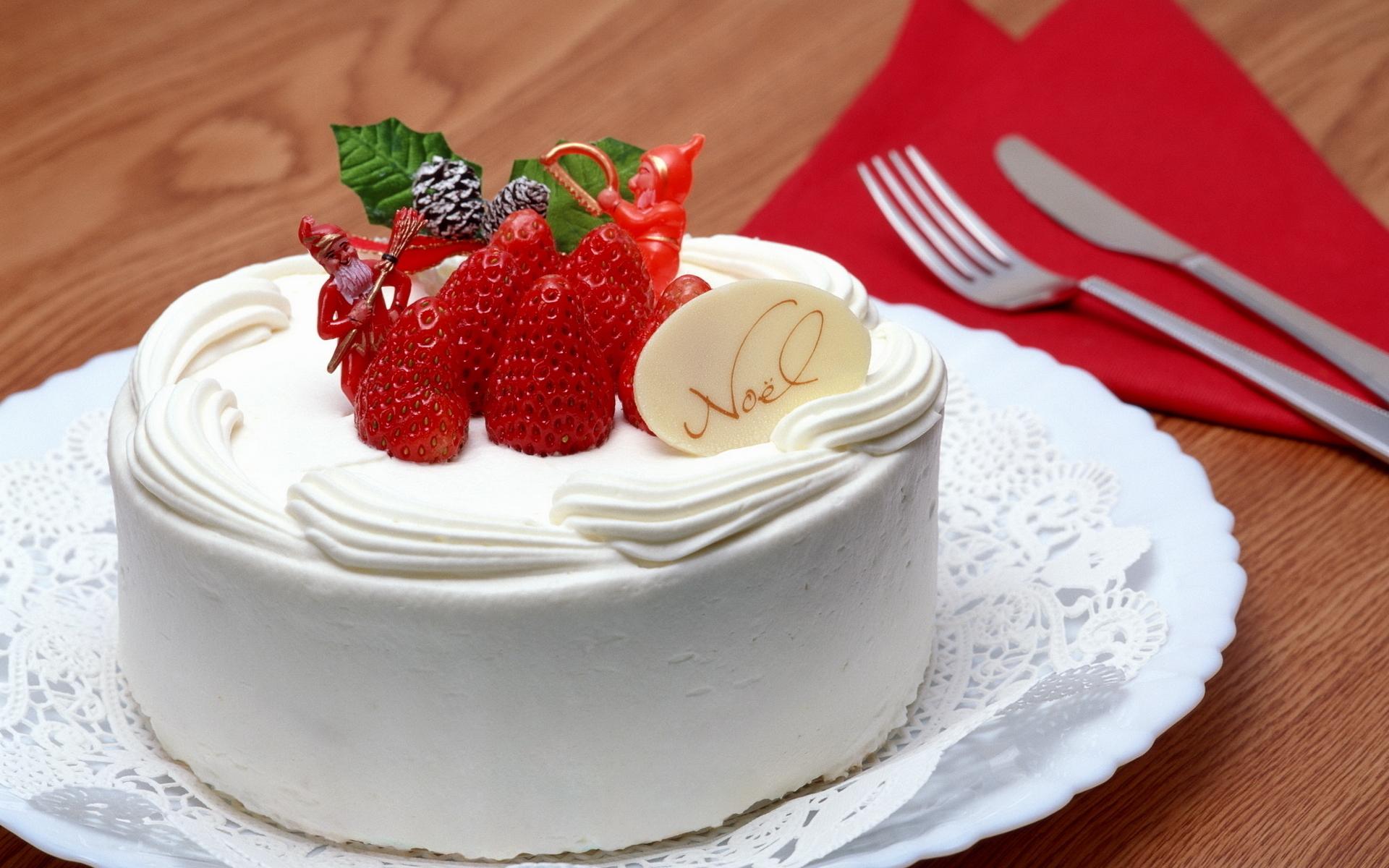 торт клубника крем бесплатно