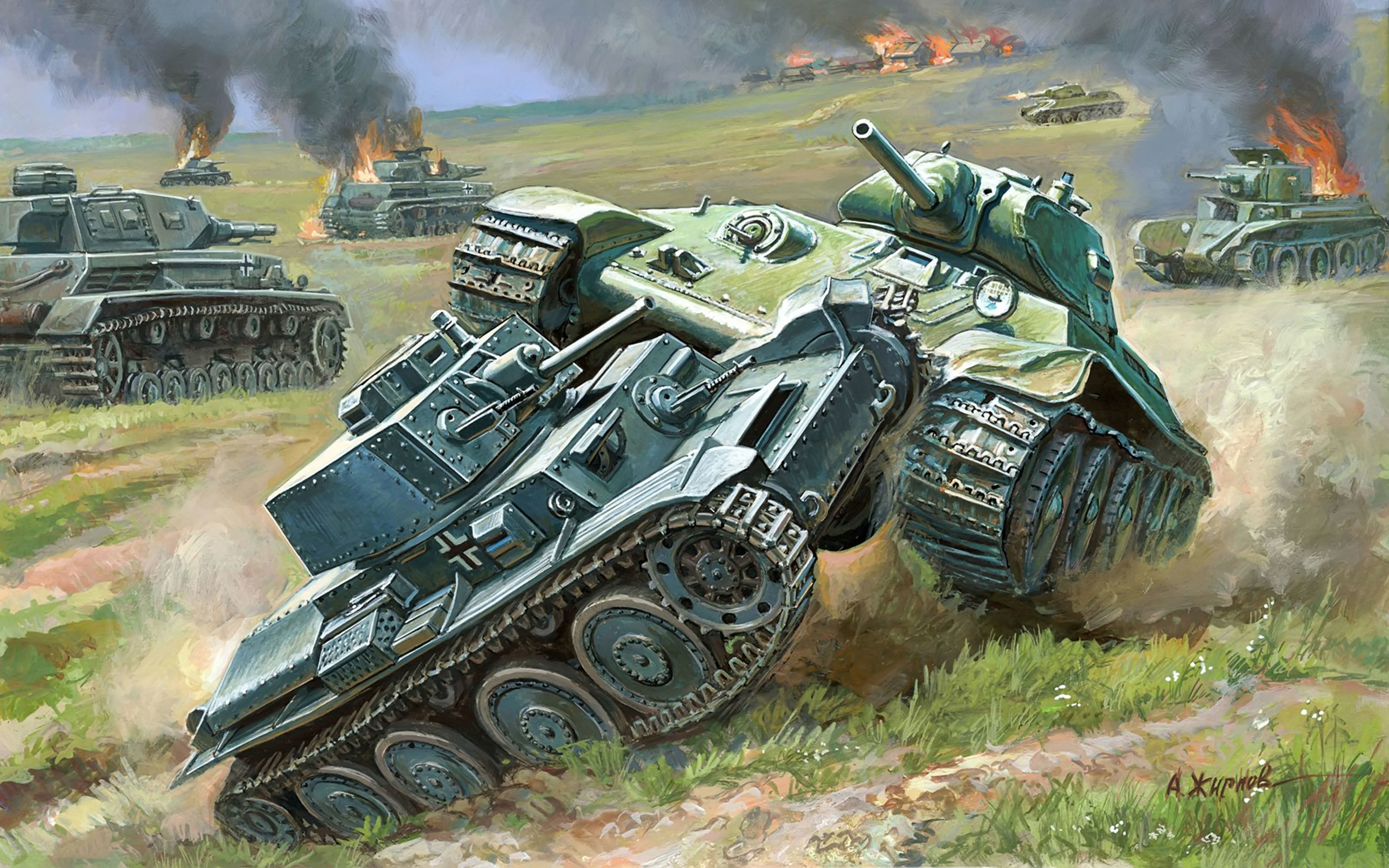 Hd обои танки на рабочий стол 5