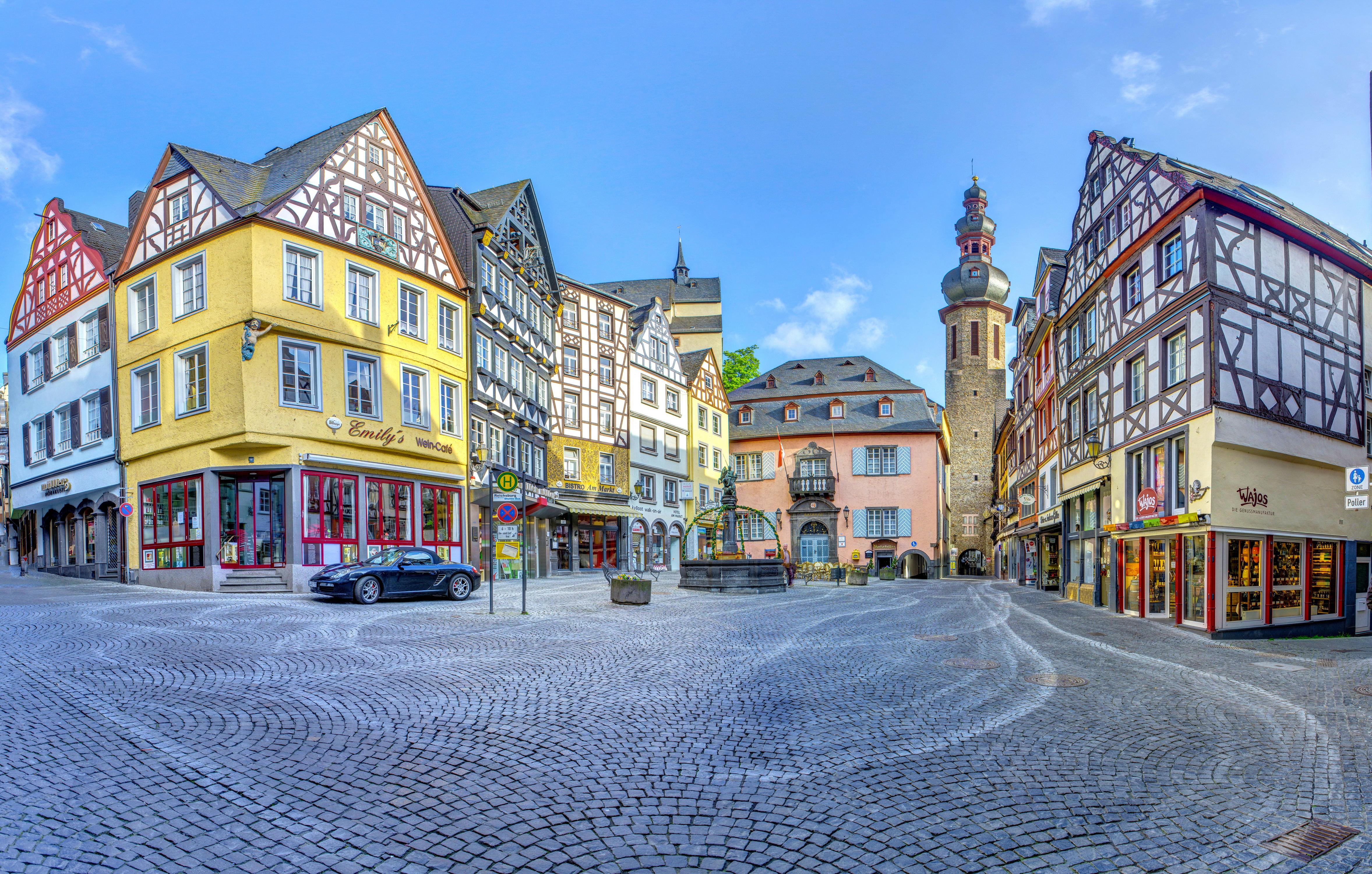 Архитектура Кохем Германия загрузить