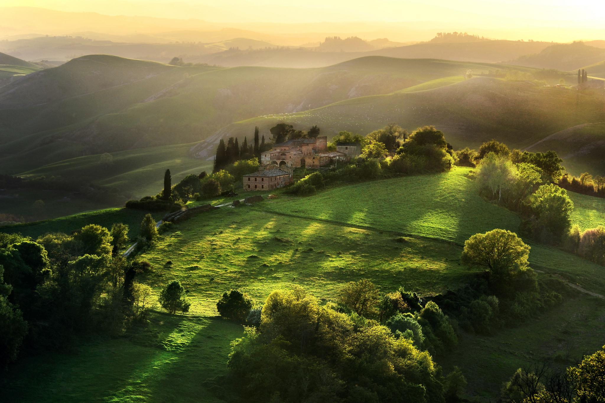 Самые живописные места тосканы