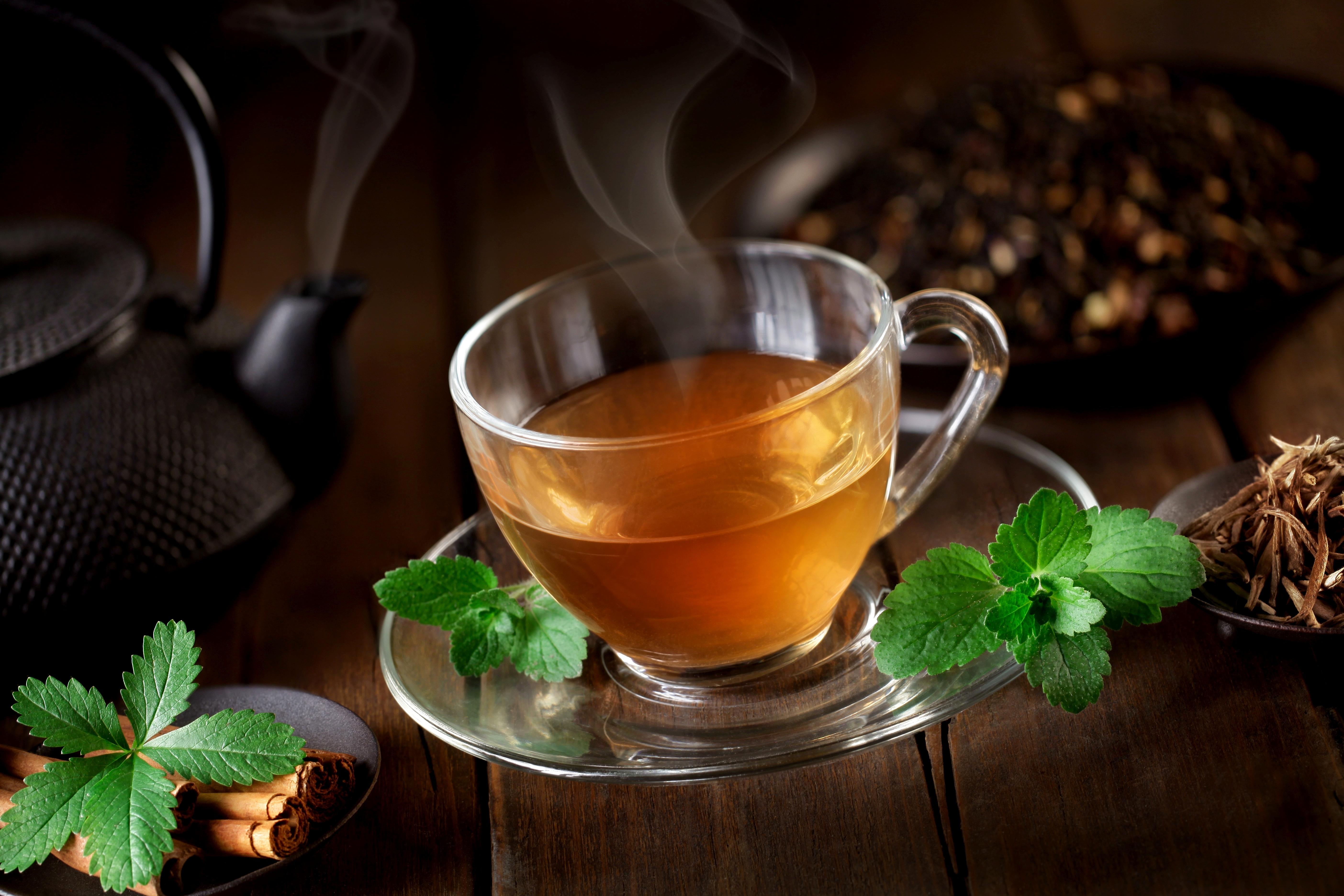 Зеленая чашка с чаем загрузить