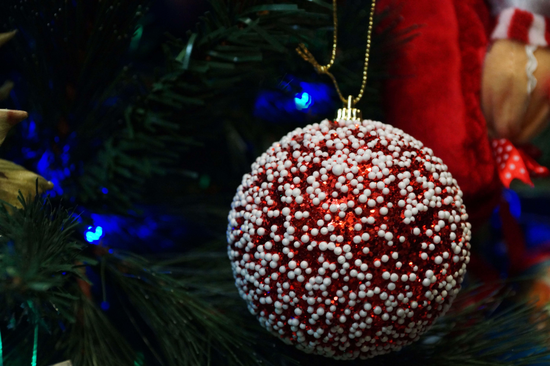 рождество, шары, огни без смс