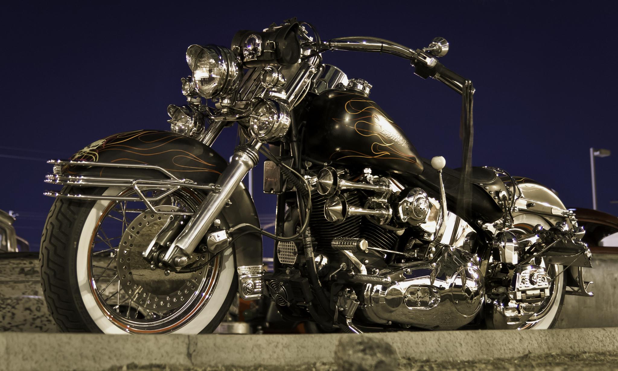 Картинки Xарлей дэвидсон Мотоциклы 2048x1229 Harley-Davidson