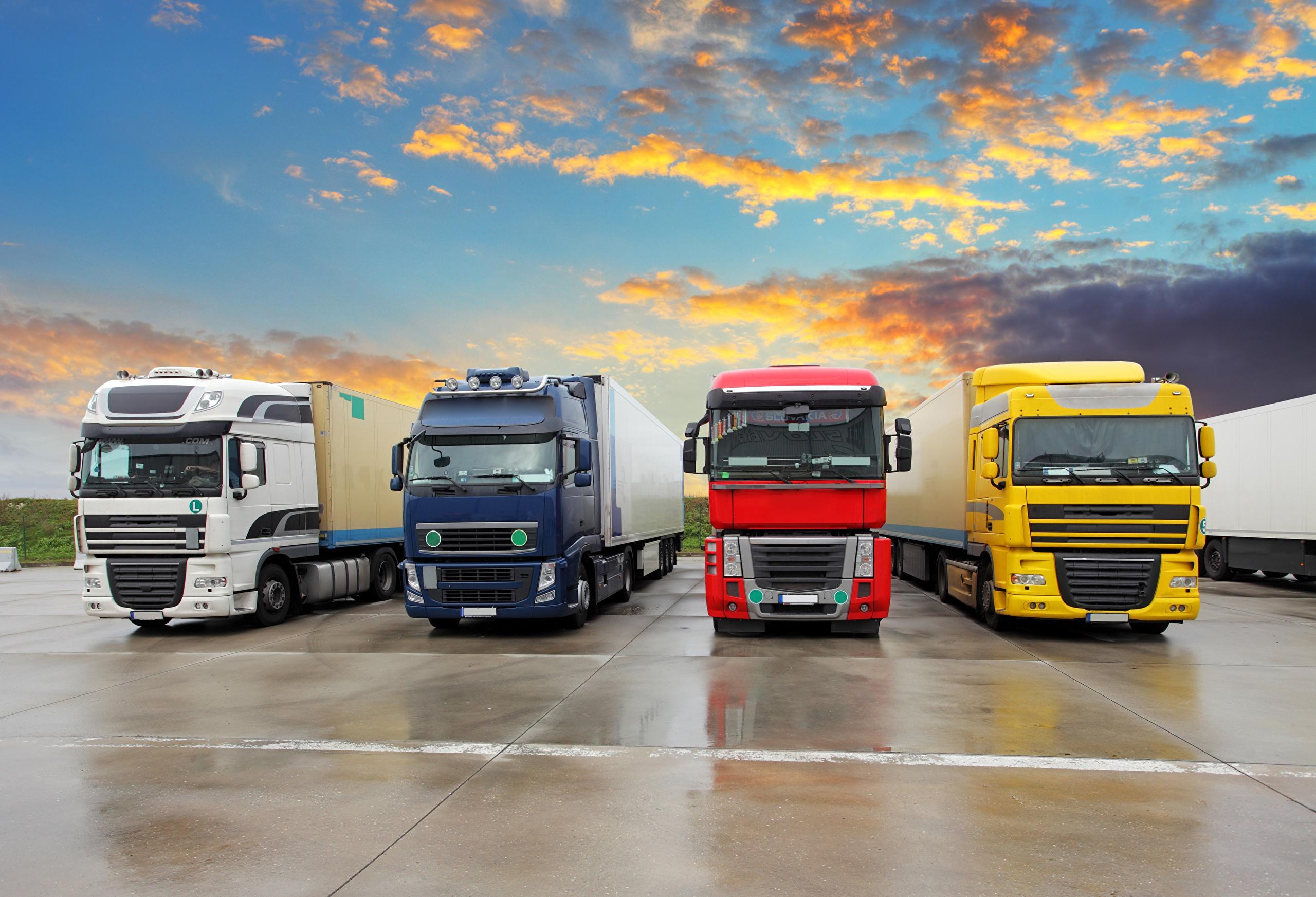 картинки на рабочий стол грузовики