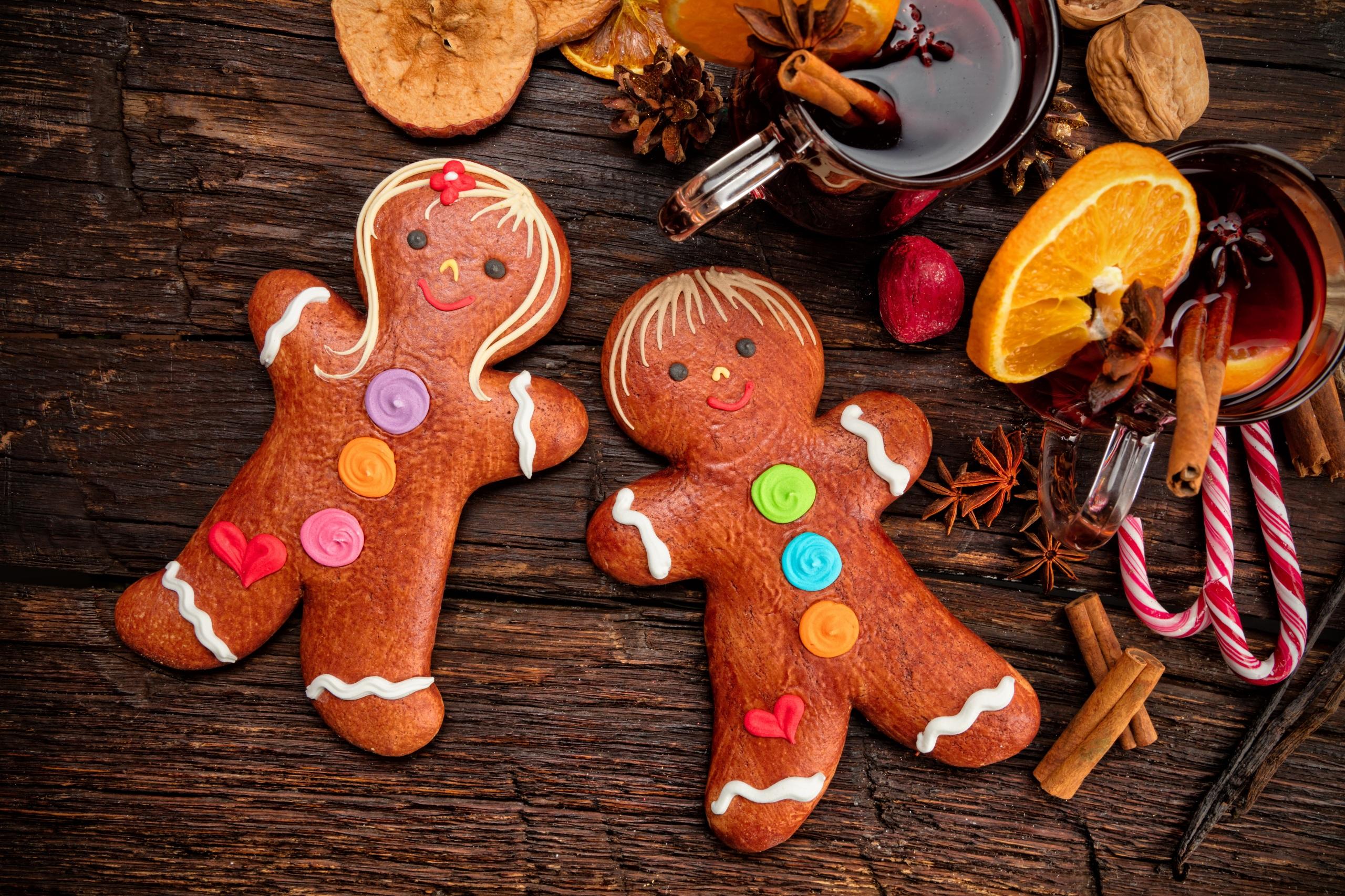 Фото Рождество Бадьян звезда аниса Корица Еда Печенье сладкая еда дизайна 2560x1706 Новый год Пища Продукты питания Сладости Дизайн