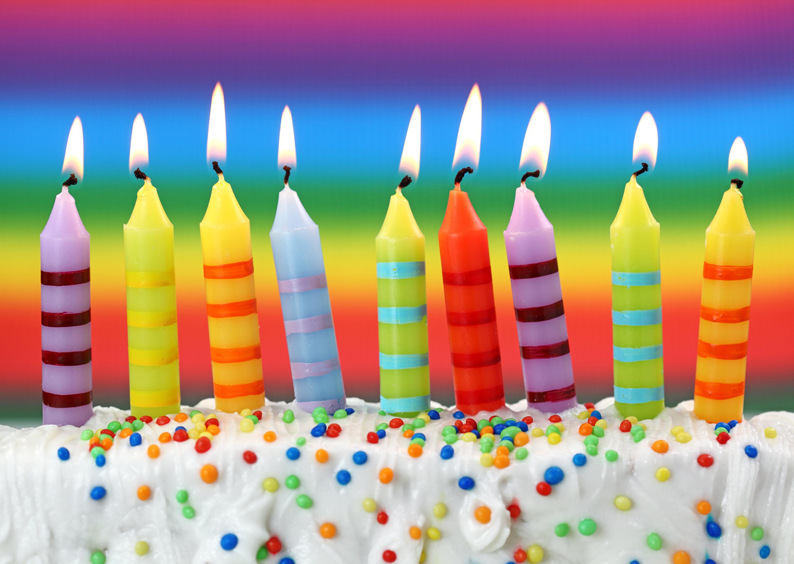 Свечи С Днем Рождения скачать