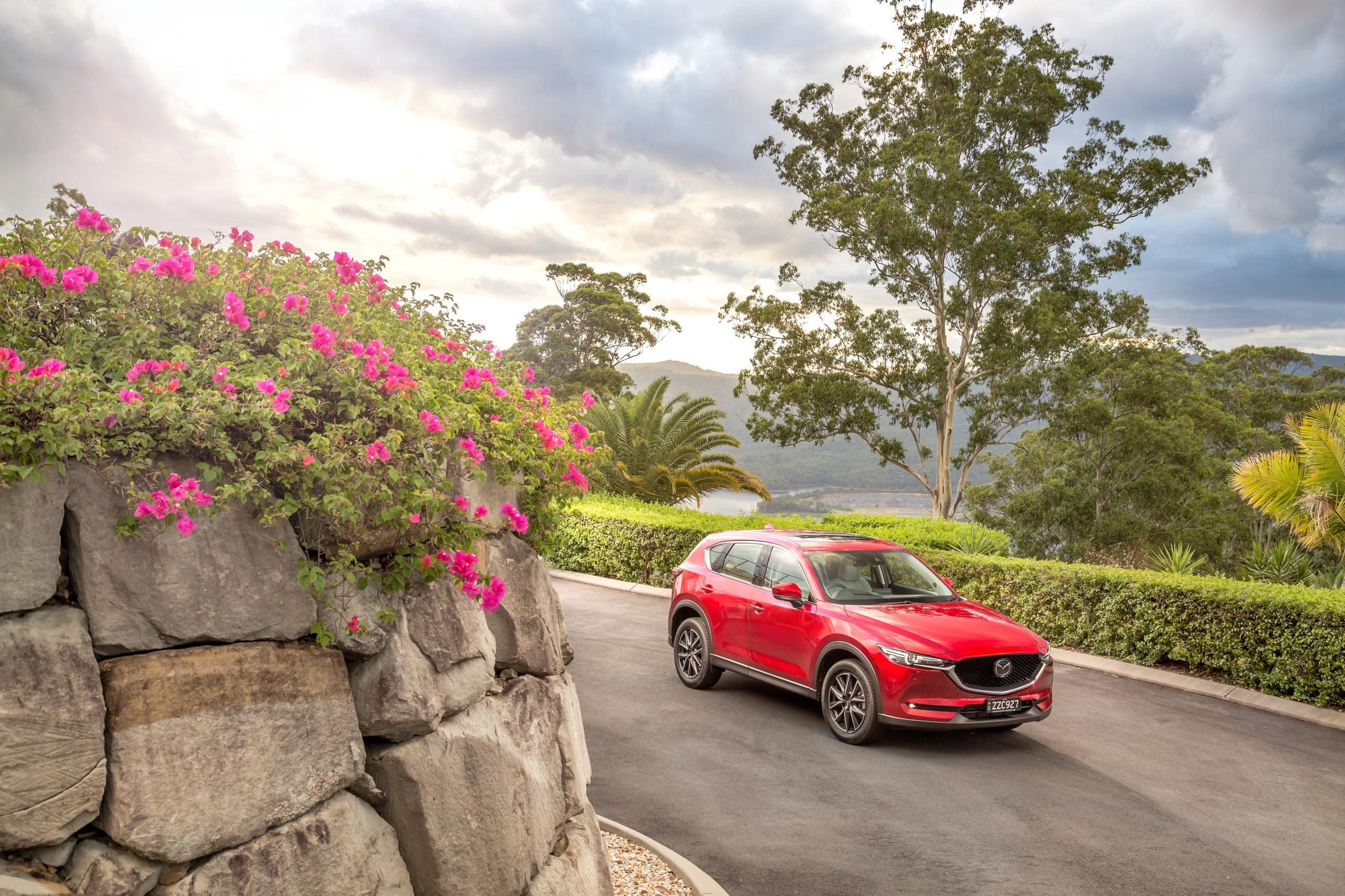 Картинка Mazda 2017 CX-5 Akera красных машина Металлик 2560x1706 Мазда Красный красные красная авто машины автомобиль Автомобили