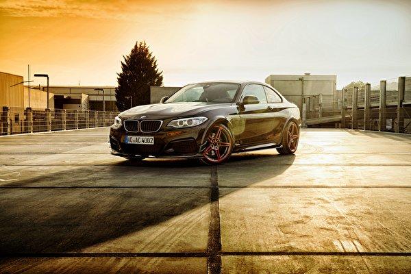 Фотографии BMW F22, 2-Series Купе Автомобили 600x400 БМВ авто машины машина автомобиль
