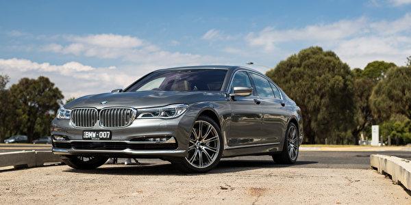 Фото BMW G12, 7-Series Седан авто 600x300 БМВ машина машины Автомобили автомобиль