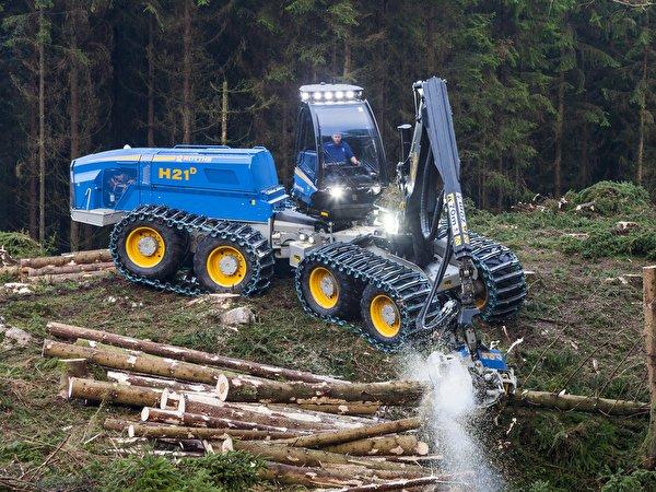 Фото 2013-18 Rottne H21D Harvester бревно 600x450 Бревна