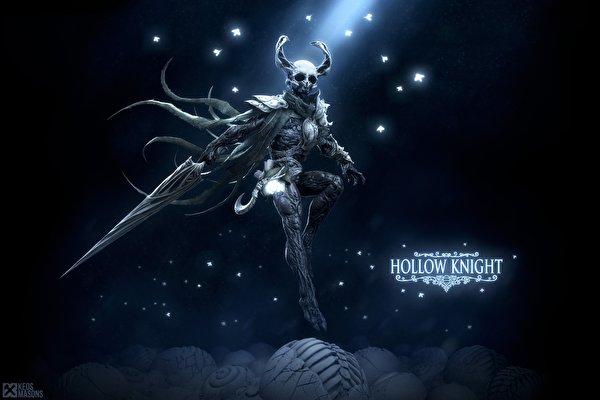 Обои для рабочего стола меча Воители Рога Hollow Knight, Keos Masons Игры 600x400 меч Мечи с мечом воин воины с рогами компьютерная игра