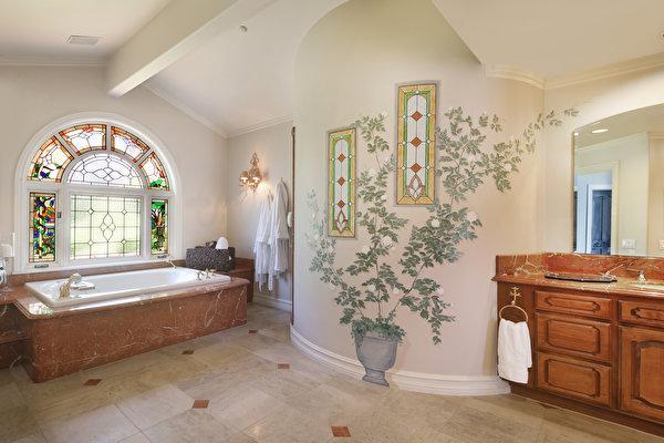 Обои для рабочего стола Ванная Интерьер дизайна 600x400 Дизайн