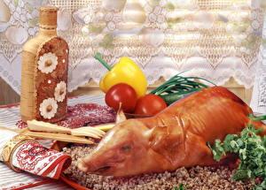 Картинка Мясные продукты Свинина