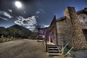 Фото США Дома Калифорния Старая HDR Малибу
