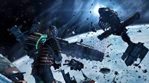 Картинка Dead Space Dead Space 0 Воители Катастрофы Доспехи 0D_Графика Космос