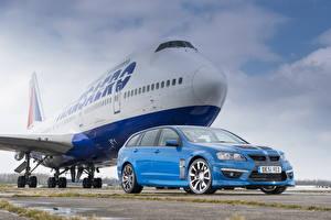 Обои Vauxhall Самолеты Голубой 2013 VXR8 tourer