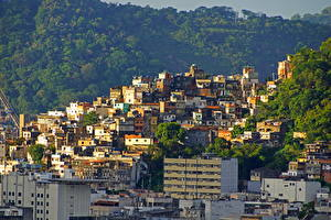 Обои Бразилия Здания Рио-де-Жанейро