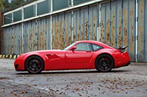 Фотография Wiesmann Красный Металлик Сбоку Люксовые 2011 GT MF5