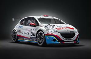 Фотографии Peugeot Белых 2013 208 GTi Sport Автомобили