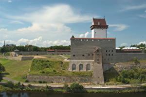Обои Эстония Замки Крепость Города