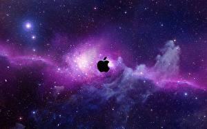 Фотографии Apple Звезды Туманности в космосе