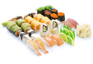 Обои Морепродукты Суши Еда фото
