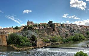 Фотография Испания Толедо HDR Города