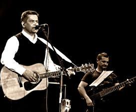 Обои Мужчины Гитара Николай Расторгуев Любэ Музыка Знаменитости фото