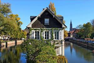 Фотография Франция Здания Страсбург