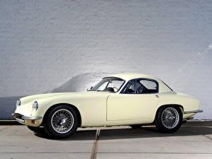 Фотография Lotus Винтаж Белый Сбоку 1957 Lotus Elite автомобиль