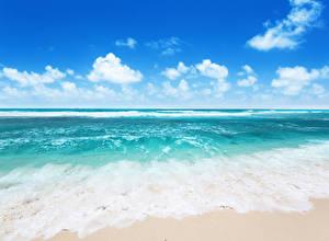 Обои Море Природа