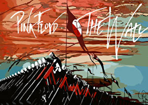 Обои Pink Floyd Флаг Музыка фото