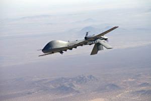 Обои Беспилотный летательный аппарат Полет MQ-1C Sky Warrior Авиация