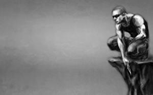 Обои Мужчина Воители Рисованные Риддик фильм Фильмы