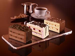 Обои Сладости Пирожное Торты Шоколад Еда