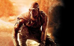 Картинка Vin Diesel Мужчина Воители Риддик фильм Очки Знаменитости