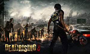 Фото Dead Rising Зомби Мужчины Воители 3