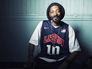 Фото Мужчины Snoop Dogg Негр Борода Знаменитости