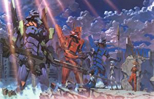 Обои Neon Genesis Evangelion Аниме