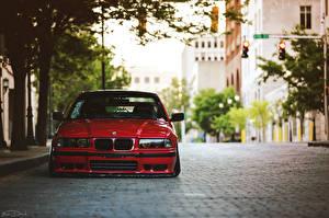 Фотографии BMW Красных Улица E36 автомобиль